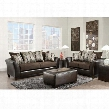 RS-4173-01LS-SET-GG Riverstone Rip Sable Chenille Living Room Set in