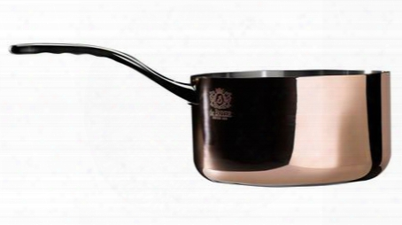 "6206.24 Prima Matera Sauce Pan By De Buyer With Product Diameter 9.5 "" Special Induction Base Unique Range Ferro-magnetic Bottom And High-end Mirror"