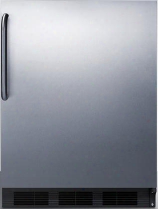 """Ct66bbisstbada 24"""" Ct66jbiada Series Ada Compliant Medical Freestanding Or Built In Compact Refrigerator With 5.1 Cu. Ft. Capacity Interior Lighting Dual"""