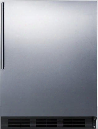 "Ff6bsshvada 24"" Ff6ada Series Ada Compliabt Medical Freestanding Compact Refrigerator With 5.5 Cu. Ft. Capacity Automatic Defrost Hidden Evaporator"