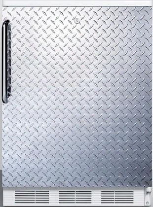 """Ff6ldpl 24"""" Ff6 Series Medical Freestanding Compact Refrigerator With 5.5 Cu. Ft. Capacity Interior Light Door Storage Crisper And Automatic Defrost:"""