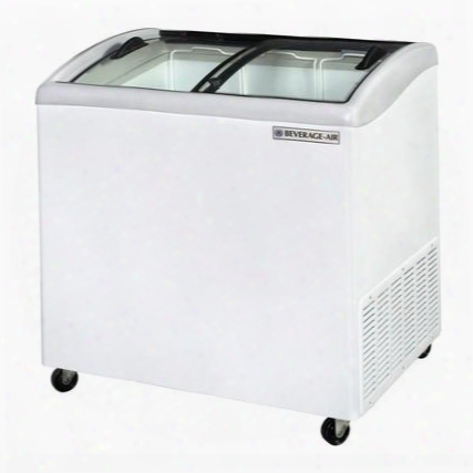 Nc34-1-w Curved Lid Display Freezer/novelty Case In White 5.7 C.