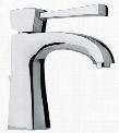 11211-92 Single Lever Handle Lavatory Faucet With Arched Spout Rose Gold