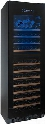 236038703 N'FINITY PRO HDX Dual Zone Wine Cellar with 187 Bottle Capacity Multi Color LED Lighting Telescopic Shelving Touchscreen Controls and Charcoal