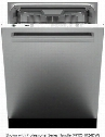"DW24XT 24"" Energy Star Dishwasher with 16 Place Settings 5 Wash Options Turbo Drying 4 Spray Arms 2 Racks and 1 Flexible Top Drawer in Stainless"