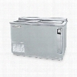 DW49-S-24 Remote Horizontal Bottle Cooler Deep Well in Stainless Steel with 2 Solid Self-closing Doors 3