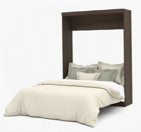 "25184-52 Nebula 89.1"" Tall Queen Wall Bed With Euroslat Mattress Support System In"