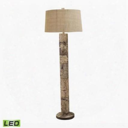 503-led Aspen Bark Led Floor Lamp Natural Bark