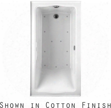 Abr782r#12n2 Clayton Series Drop-in Airbath Tub With Acryclic Construction And Slip-resistant Surface Sedona Beige Finish Two