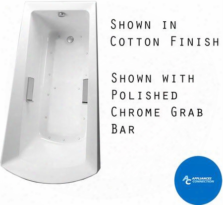 Abr964t#12n Soiree Series Drop-in Airbath Tub With Acrylic Construction And Slip-resistant Surface Sedona Beige Finish Left