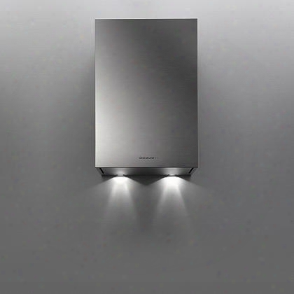 "Ffalt24i5fs 24"" Fasteel Collection Altair Top Range Hood With 500 Cfm No Fingerprint Technology Halogen Lighting And Perimeter Aspiration System In Stainless"