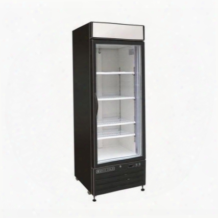 "Mxm123rb 25"" X-series Merchandising Display Refrigerator With 23 Cu. Ft. Capacity Coated Steel Exterior And Interior Digital Display Cfc-free Refrigerant"