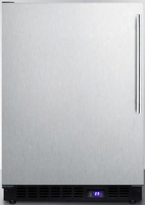 "Scff53bxsshvlhd 24"" Scff53b Series Freestanding/built-in Undercounter Freezer With 4.72 Cu. Ft. Capacity Frost-free Operation Open Door Alarm & Digital"