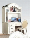 Flora Collection 01687DHC 3 PC Student Desk Set with Computer Desk + Hutch + Chair in