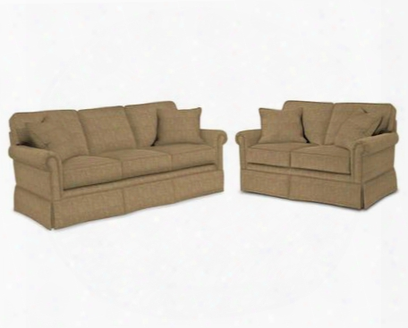Audrey 3762qasl/8595-83 2-piece Living Room Set Withqueen Air Dream Sleeper And Loveseat In 8595-83