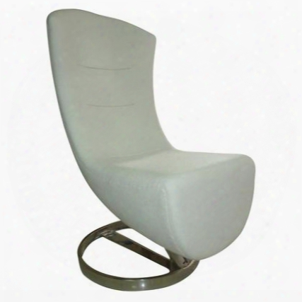 Fmi10172-white Lay Lounge Chair