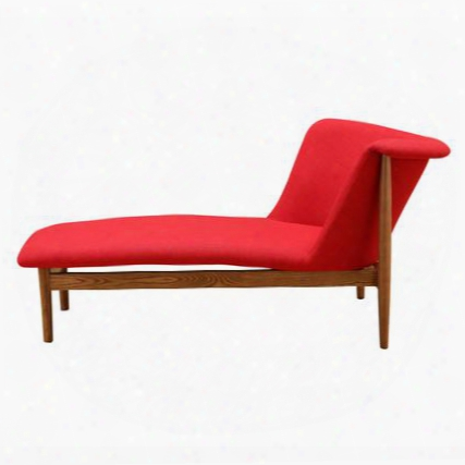 Fmi10191-red Ash Lounge Chair