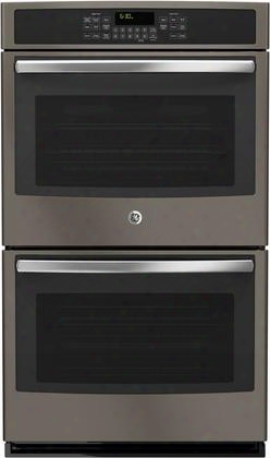 """Jt5500ejes 30"""" Built-in Double Wall Oven With True European Convection Self-clean With Steam Clean Option 5 Total Oven Racks And 10 Cu. Ft. Total Oven"""