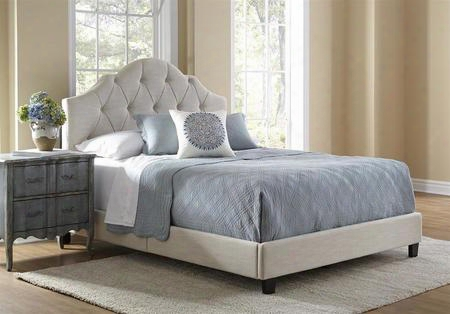 Ds-2015-290 All-n-one Fully Upholstery Tuft Saddle Queen Bed In