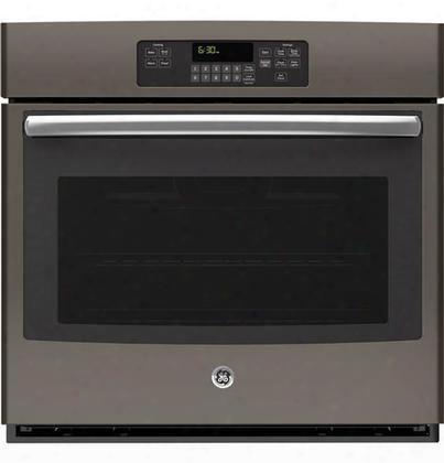 "Jt3000ejes 30"" Electric Single Wall Oven With 5 Cu. Ft. C Apacity Self Clean With Steam Clean Option Ten-pass Bake Element And Eight-pass Broil Element In"