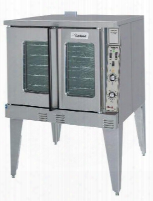 "Mco-ed-10-s 38"" Master Series Deep (bakery) Depth Single Convection Electric Full-size Oven With Simple Control Airbaffling System Energy & Efficiency"