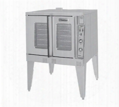 "Mco-gd-10-s 38"" Master Deep (bakery) Depth Single Convection Oven With Direct Spark Ignition 2 Speed Fan Control Safety Door System In Stainless"