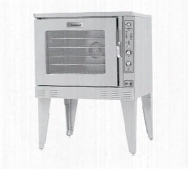 "Mp-gd-10-d 38"" Single Moisture+ Deep Depth Convection Oven With 80000 Btu Power Deluxe Microprocessor Controller Two Speed Fan With 3/4 Hp Motor And Quartz"