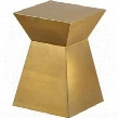 23102-02-BS 14x14x20 Gretchen End Table in Brushed Champagne