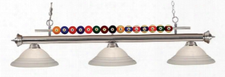 170bn-sw16 3 Light Billiard