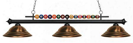 170mb-sac 3 Light Billiard