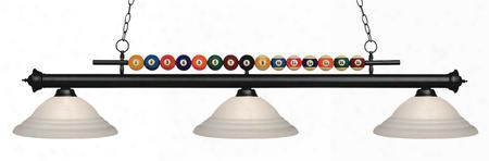 170mb-sw16 3 Light Billiard