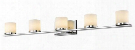 1912-5v-ch-led 5 Light Vanity