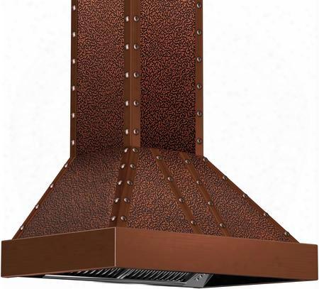 "655ecccc36 30"" Designer Series Elite Copper Wall Range Hood With 900 Cfm 4 Fan Speeds Built-in Lighting Stainless Steel Dishwasher Safe Baffle Filters In"