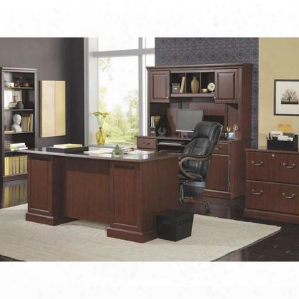 Wc65570-03k Bennington Collection L-desk In Harvest