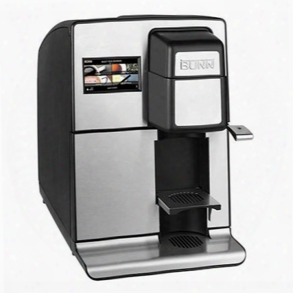 44500.0000 Mco My Cafe Single Service Cartridge Automatic Brewer With Customizable Brew Settings Separate Hot Water Dispenser Automatic Water Refill And