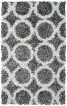 Knkmm244800330912 Kempton Km2448-9' X 12' Hand-tufted 100% Polyester Rug In Gray Rectangle