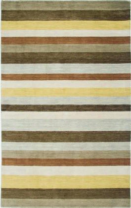 Plapl313100120810 Platoon Pl3131-8' X 10' Hand-loomed New Zealand Wool Blend Rug In Brown Rectangle