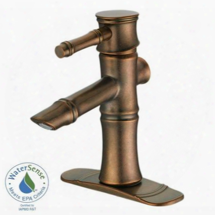 D225545rbd South Sea 4 In. Single-handle Bathroom Faucet In Distressed