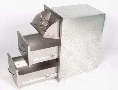 """A-dpcf 17"""" Flush Drawers And Paper Holder"""