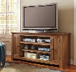 "Macibery W785-38 60"" Large TV Stand Including 5 Shelves and 2 Doors with Adjustable Shelf Hole(s) for Wiring and Simple Pulls in Greyish"