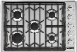 "VGSU5305BSSLP 30"" Professional 5 Series Gas Cooktop with 5 Permanently Sealed Burners SureSpark Ignition System and ScratchSafe Grate Design in Stainless"
