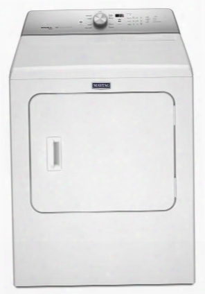 "Medb755dw 29"" Front Load Electric Dryer With 7 Cu. Ft. Capacity Rapid Dry Cycle More Powerful Motor Advanced Moisture Setting In"