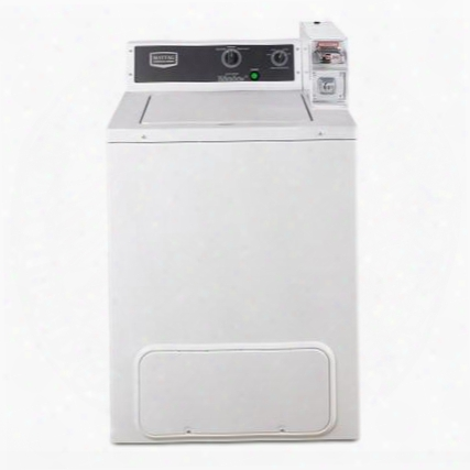 """Mvw18csbww 27"""" Commercial Energy Advantage Top Load Washer With 2.9 Cu. Ft. Capacity Extra Large Lid And Tub Opening Premium Porcelain-enamel Top And Smooth"""