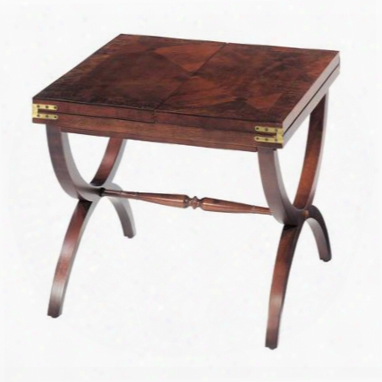 """Aderley Collection 6001566 47"""" Cocktail Table With Detailed Stretcher Rich Inlaid Veneers And Asian Hardwood Materials In Vintage Mahogany"""
