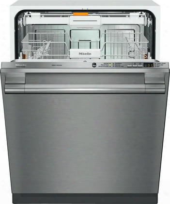 "G6165scvi-sf 24"" Futura Crystal Series Dishwasher With Hidden Control Panel 6 Wash Programs 3d Cutlery Tray 16 Place Settings And Built-in Water Softener"