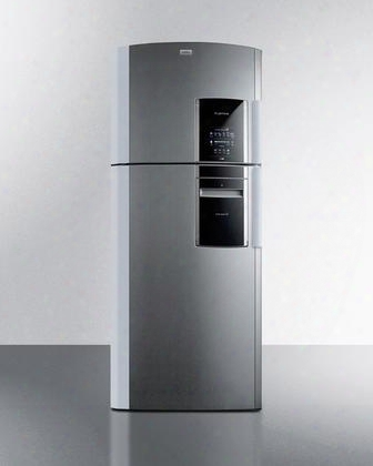 """Ingenious Ff1935plimlhd 30"""" Counter Depth Top Freezer Refrigerator With 18.12 Cu. Ft. Capacity Frost Free Operation Express Chill Zone Smart Station And Ice"""