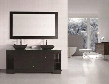 "DEC105-72 Oasis 72"" Double Sink Vanity Set with Decorative Drawer in"
