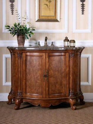 W5307-11 Sink Chest In Medium Walnut