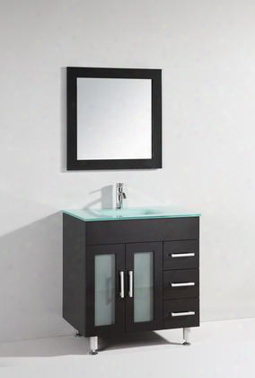 Wt9109-a Sink Vanity With Mirror - No Faucet In