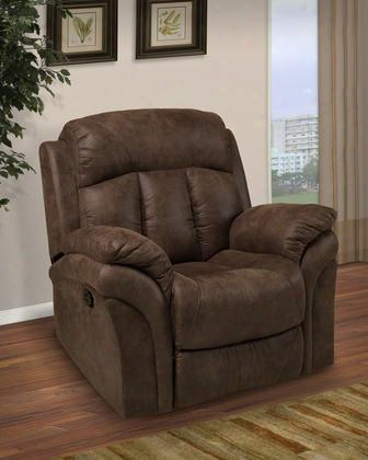 """20-336-13-bmo Maddox 44"""" Glider Recliner With Manual Recline Polyester Fabric Memory Foam Topper Fiber Fill Backs Sinuous Spring """"no Sag"""" Deck And 300 Lbs."""